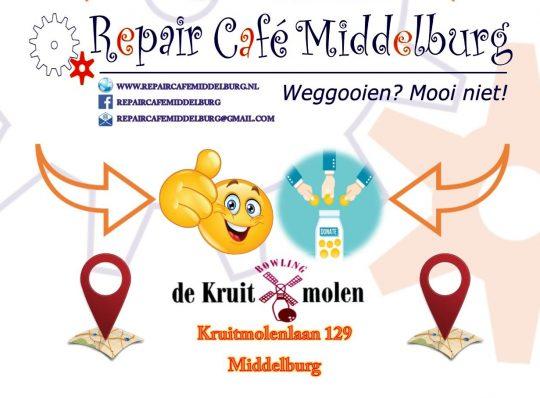 Repair Cafe 18 mei