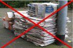 Middelburg haalt geen oud papier meer huis-aan-huis op vanwege coronavirus