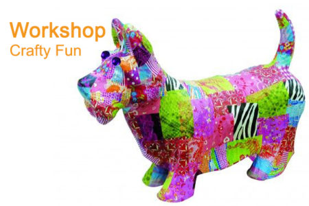Workshop decoupage dieren